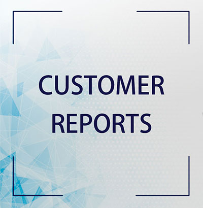 Customer Report Software by MMI Software